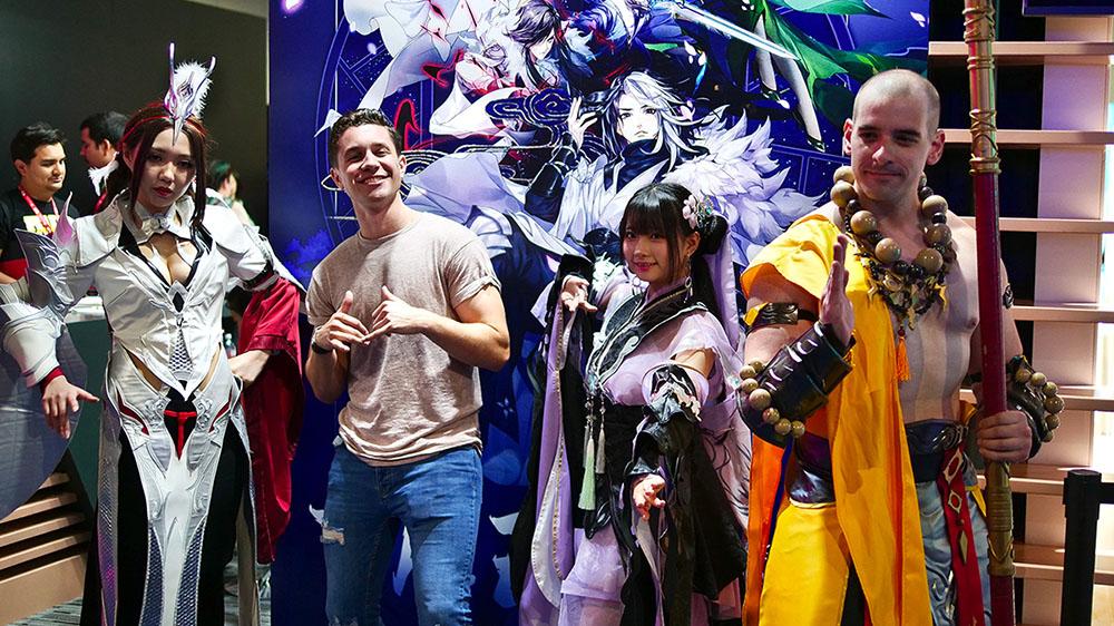 《剑网3:指尖江湖》亮相E3 外媒夸赞:东方武侠让玩家流连忘返图片11