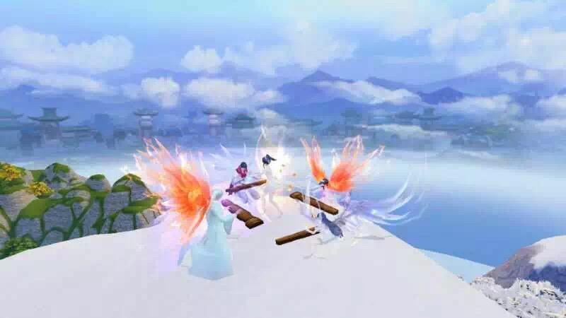 小福蝶就要有小福蝶的亚子!来《天下》手游寻找命定之翼!