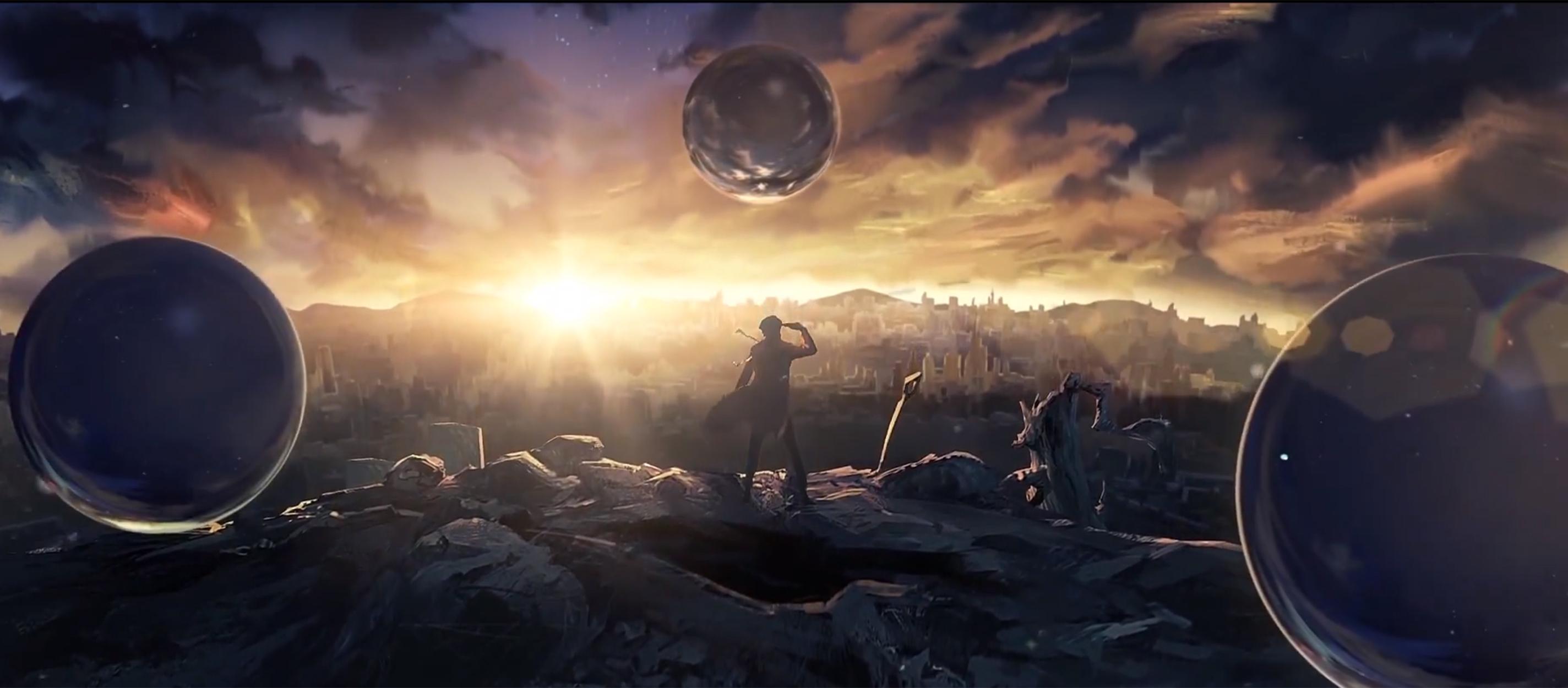 三体宇宙首秀 动画发布概念预告片 多个项目进行中