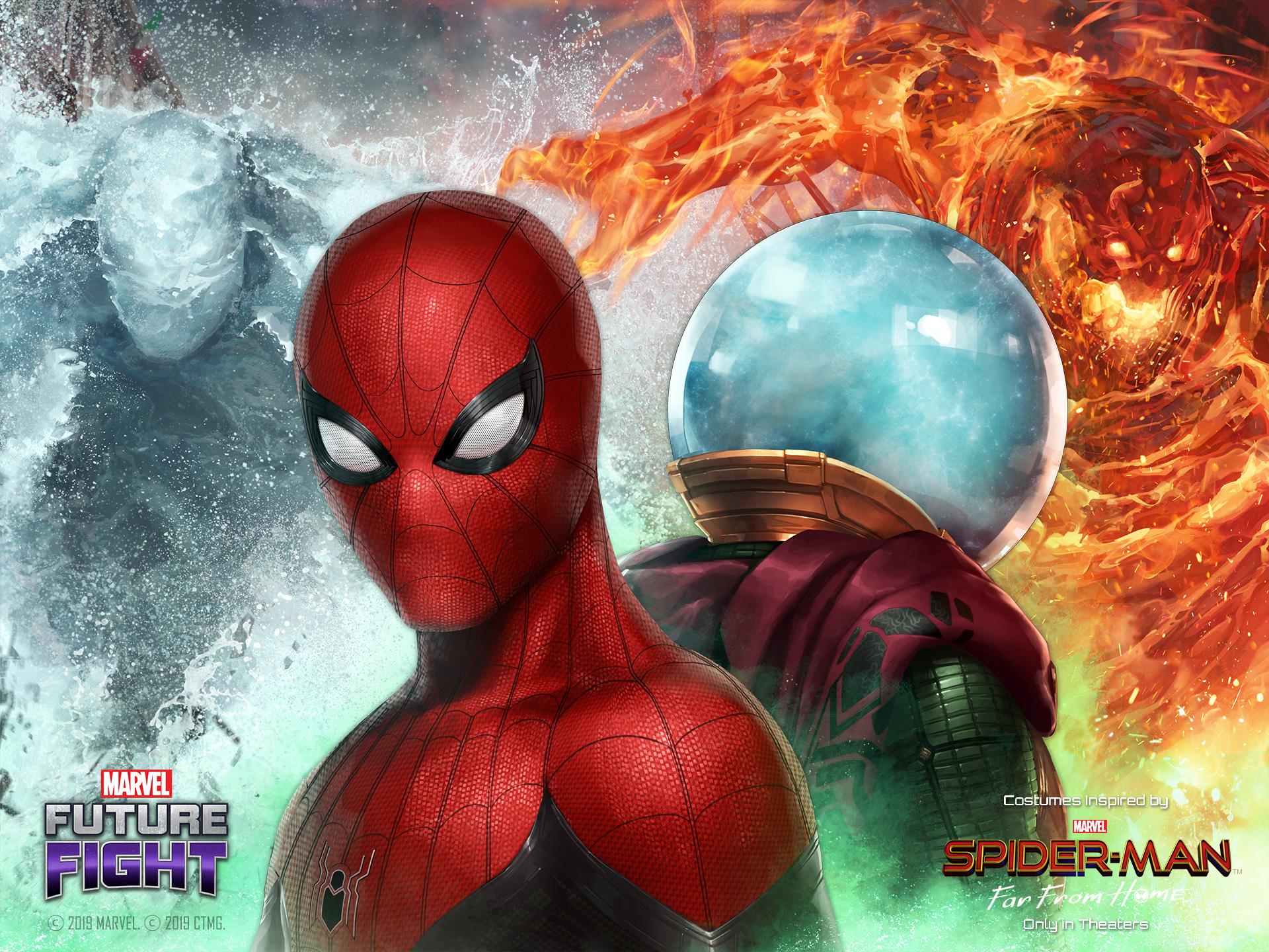 在漫威:未来之战的《蜘蛛侠:英雄远征》更新中