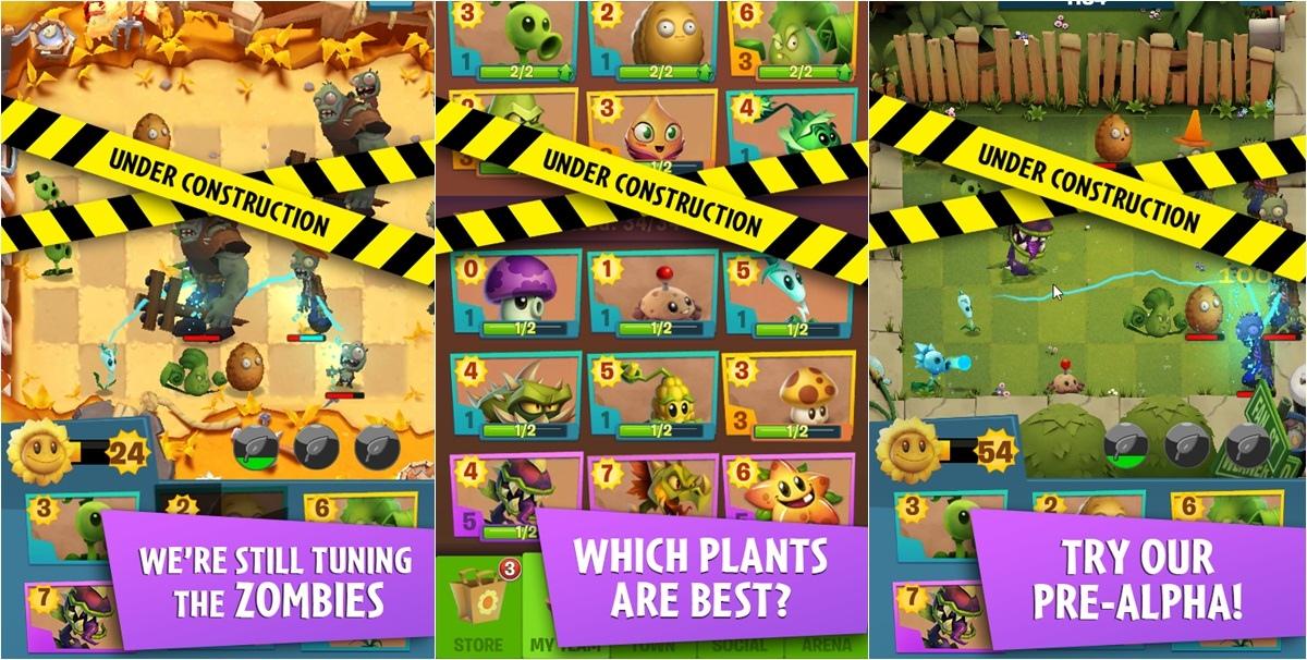 《植物大战僵尸3》实机演示 游戏将免费推出疑道具收费