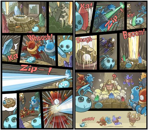 不思议迷宫官方自制关卡漫画!故事情节超有梗[视频][多图]图片4