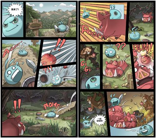 不思议迷宫官方自制关卡漫画!故事情节超有梗[视频][多图]图片3
