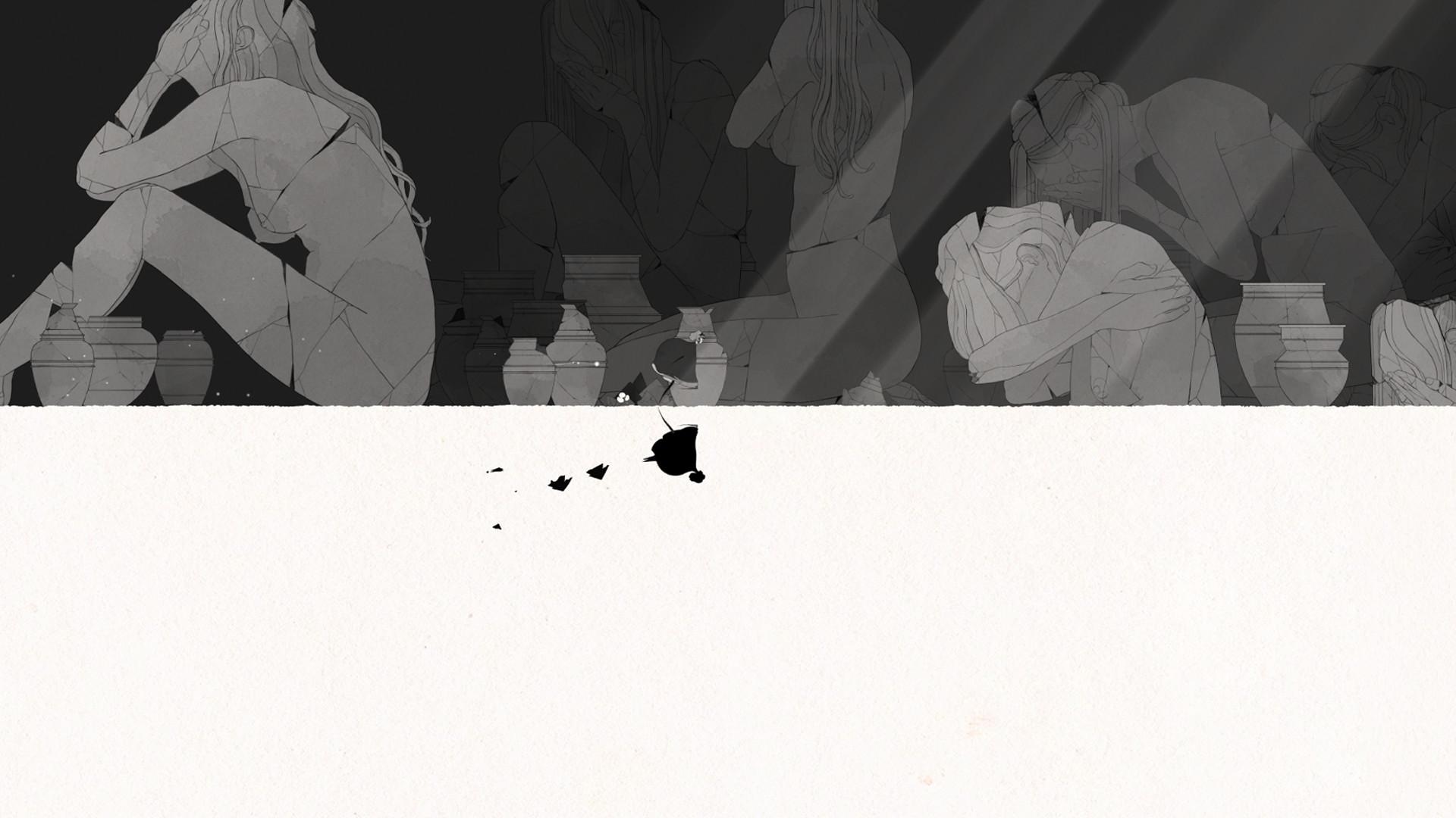 唯美风横版冒险《Gris》8月22日登陆iOS平台图片6
