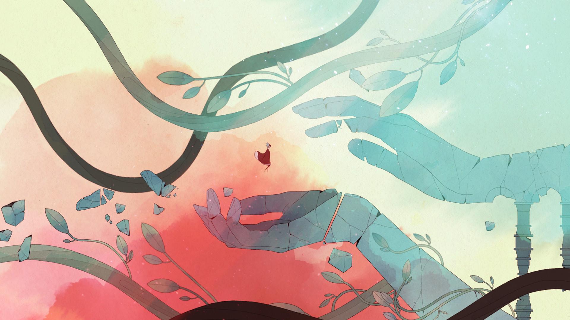 唯美风横版冒险《Gris》8月22日登陆iOS平台图片7