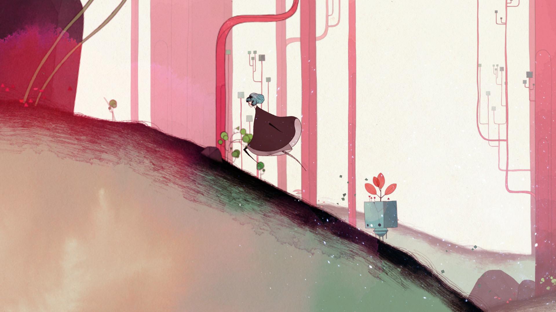 唯美风横版冒险《Gris》8月22日登陆iOS平台图片2