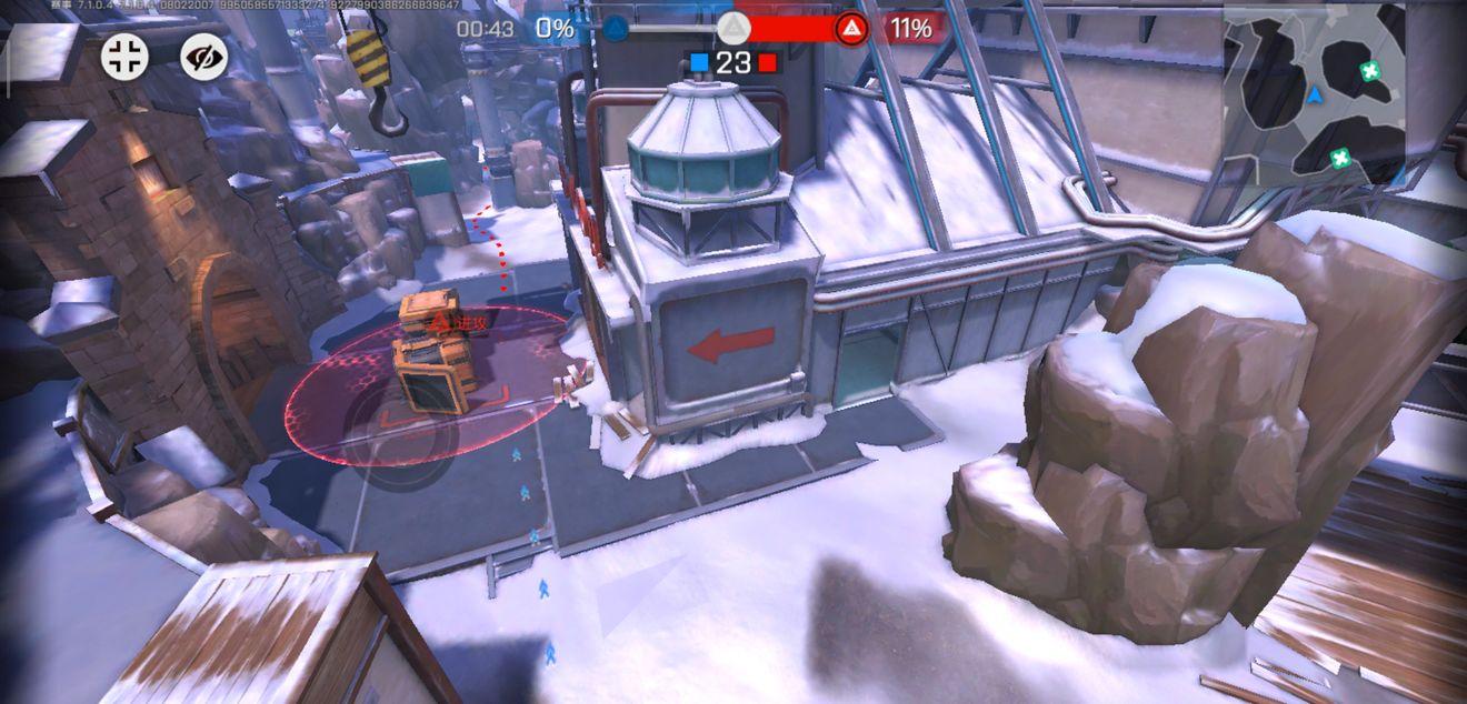 《王牌战士》雪园矿场-血包位置及OB视角概览