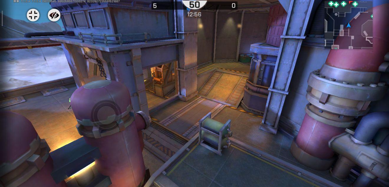 《王牌战士》炼钢厂-血包位置及OB视角概览