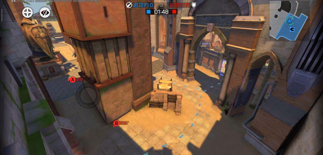 《王牌战士》沙漠城堡-血包位置及OB视角概览