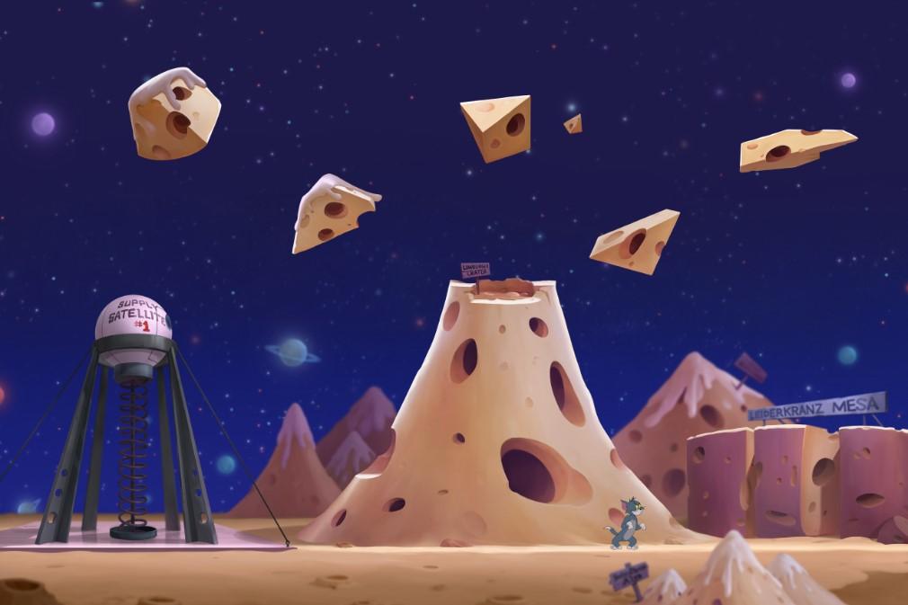 猫和老鼠手游太空堡垒地图更新!全新场景奶酪星球亮相[视频][多图]图片2