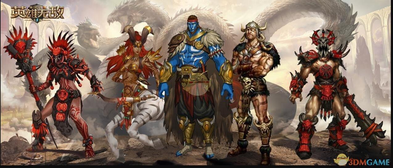 《魔法门之英雄无敌:王朝》据点种族五大英雄强势来袭