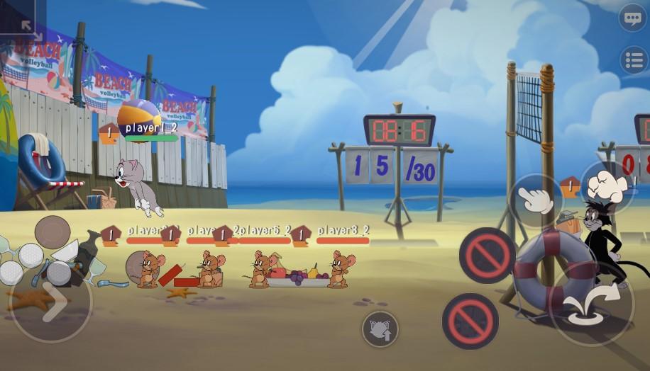 暴扣!拦网!得分!《猫和老鼠》沙滩排球上线迎中秋