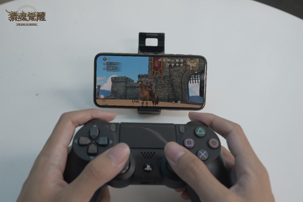 用主机手柄玩手机游戏!《猎魂觉醒》狩猎体验全新升级!