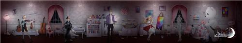 同人大触补全绮丽画卷《人偶馆绮幻夜》竟是浪漫恐怖game?[视频][多图]图片1