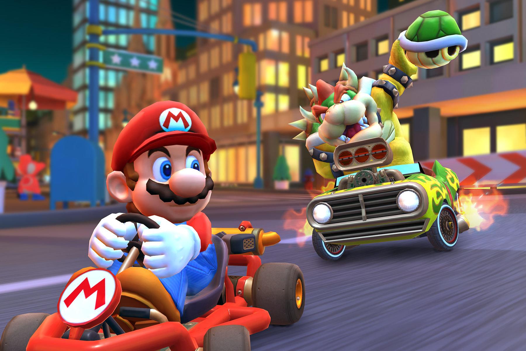 《马里奥赛车巡回赛》成为任天堂首发最成功的手游