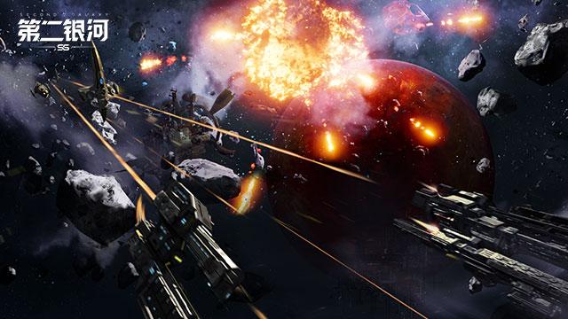 宇宙战争拉开序幕 《第二银河》CG首次曝光!