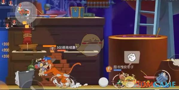 《猫和老鼠手游》太空堡垒猫咪玩法攻略