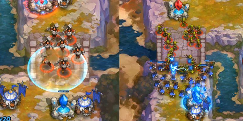 RTS中的运营博弈和阵容克制 《燃烧王座》千分进阶攻略