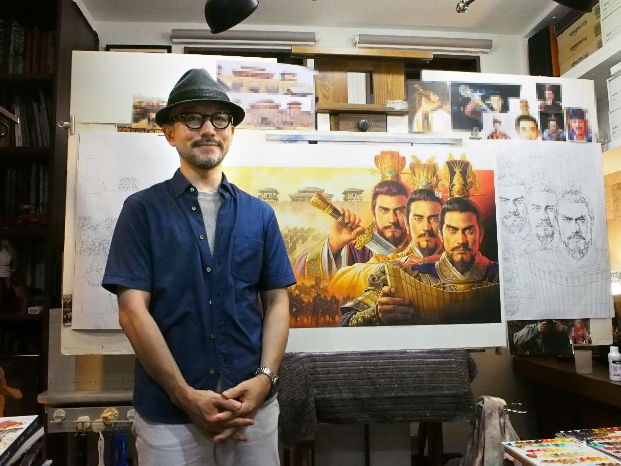 《三国志・战略版》满月红包海量送 光荣御用画师长野刚绘图祝贺图片2