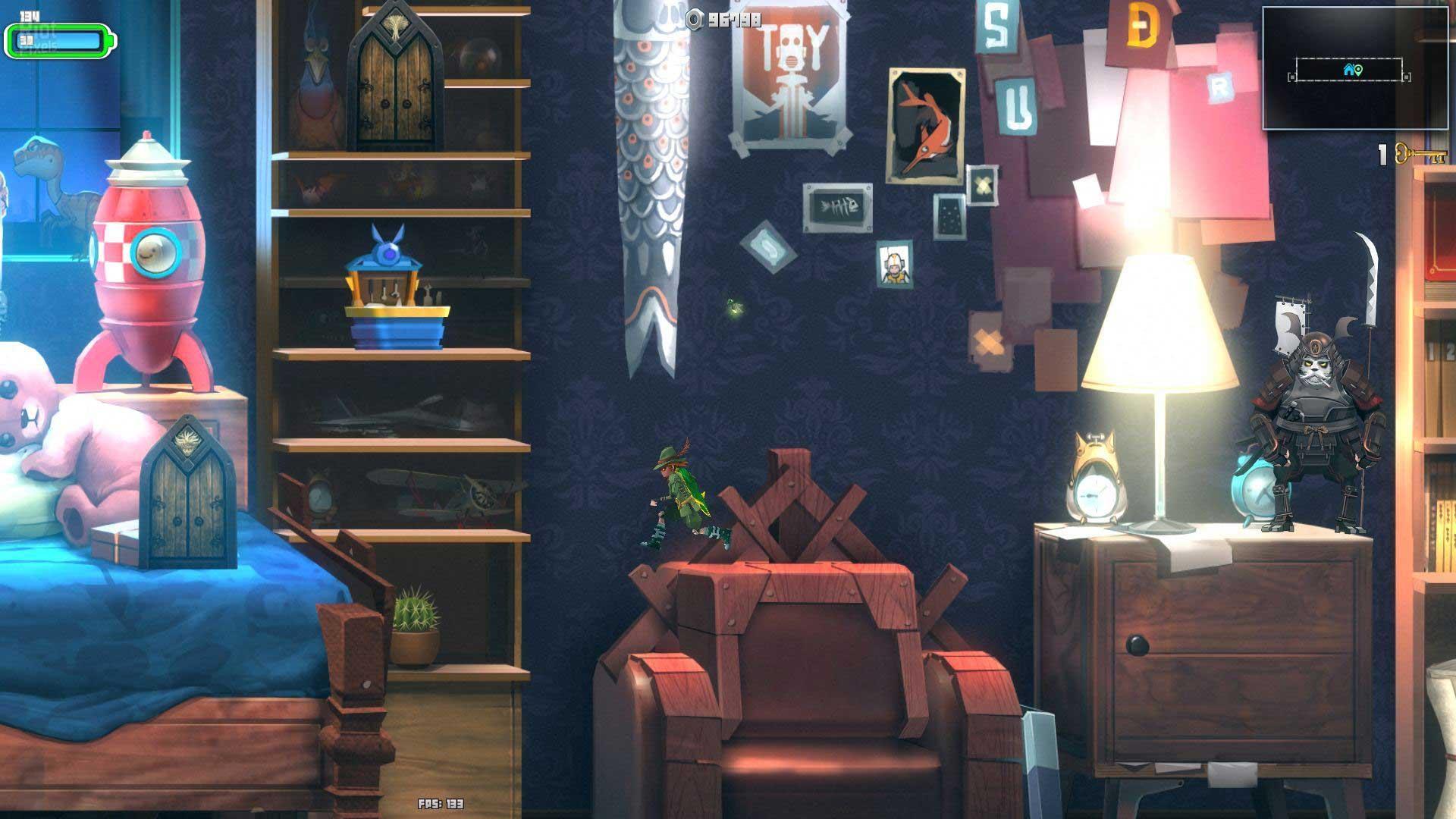 Xbox国服迎来Rougelike类横版动作新游《玩具大冒险:失落与发现》