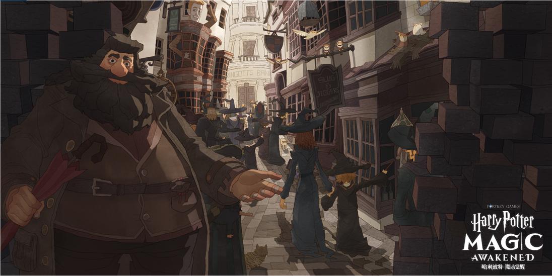 华纳兄弟与网易合作 卡牌手游《哈利波特:魔法觉醒》公开