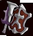 《失落城堡》武器图鉴-钢铁粉碎者(剑盾)