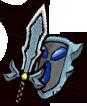 《失落城堡》武器图鉴-蓝宝石短剑(剑盾)