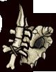 《失落城堡》武器图鉴-白骨短刀(剑盾)