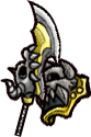 《失落城堡》武器图鉴-折断的偃月刀(剑盾)