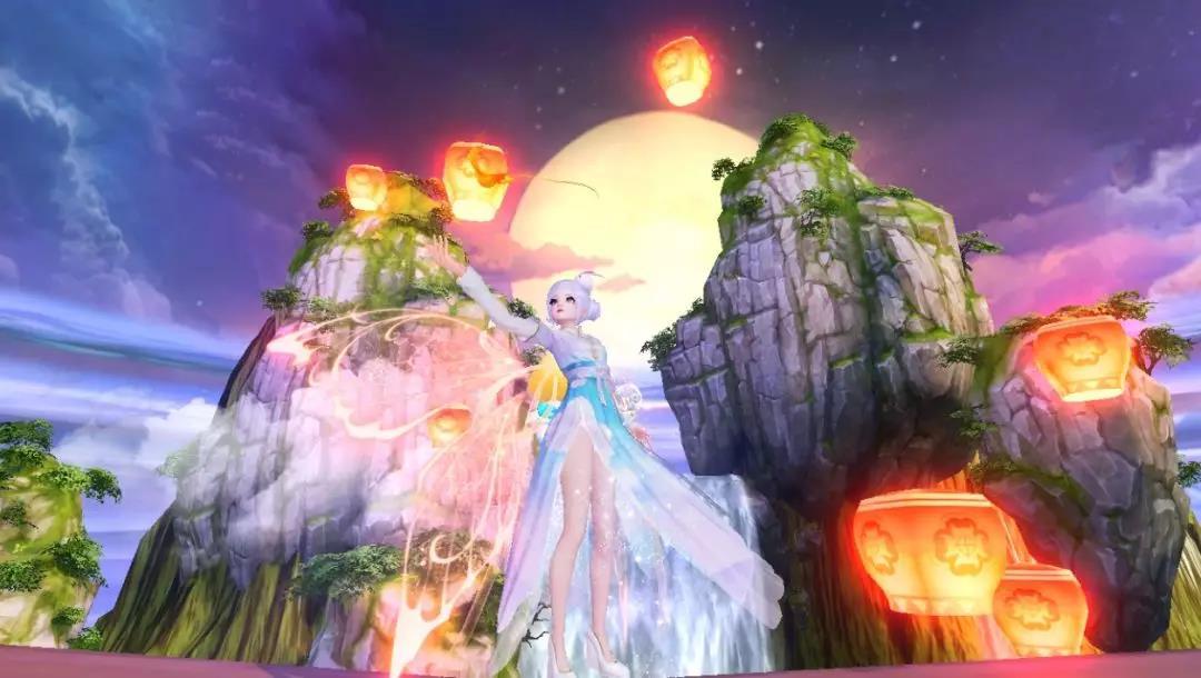 《天下》手游颜值UP新玩法!多彩羽翼照亮你的美!