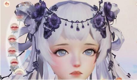 《花与剑》萝莉捏脸数据一览