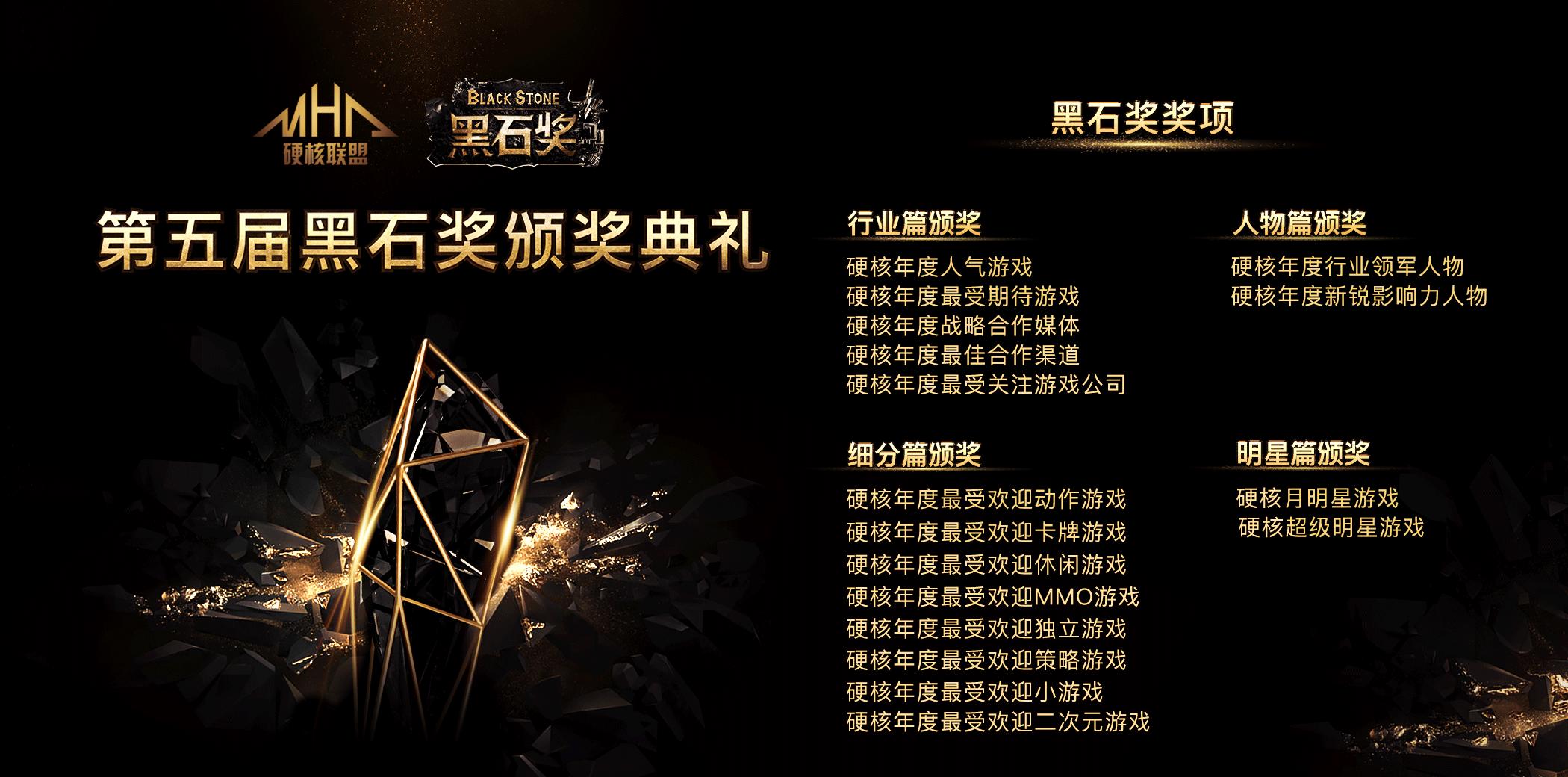 """硬核联盟渠道风向标:""""2019黑石奖""""火热来袭"""
