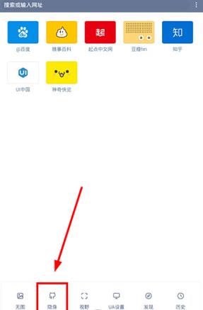 《神奇浏览器》无痕模式设置开启方法