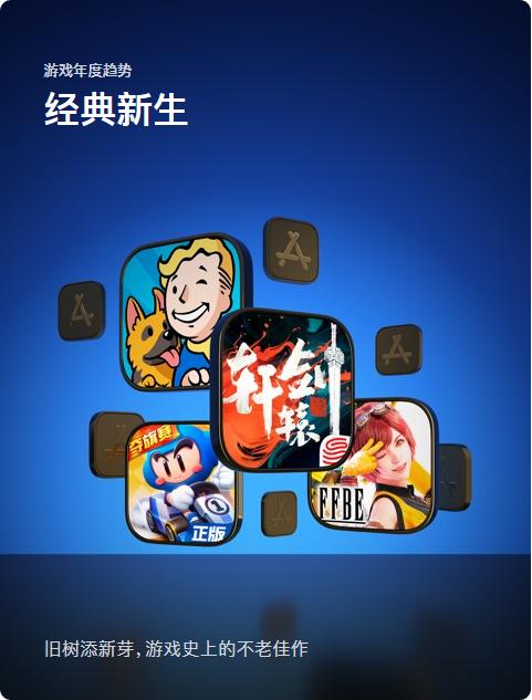 《轩辕剑龙舞云山》手游入选App Store年度精选 - 游戏年度趋势