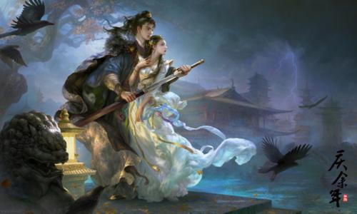 知名画师亲笔描绘《庆余年》!走进黄光剑眼中的余年江湖!