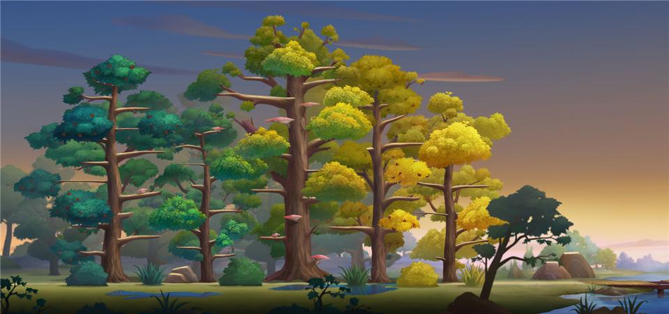 田园好风光 《猫和老鼠》全新地图森林牧场即将