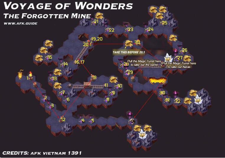 《剑与远征》时光之巅-地渊洞窟攻略