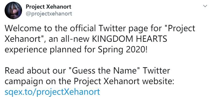 《王国之心》手游企划Xehanort公布 2020年春季推出