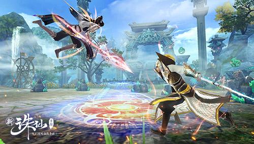 帮战玩法全面升级 《诛仙》手游全新版本20日上线