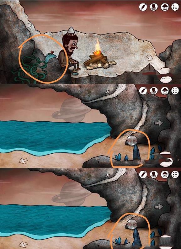 《迷失岛3:宇宙的尘埃》21朵花全位置大全