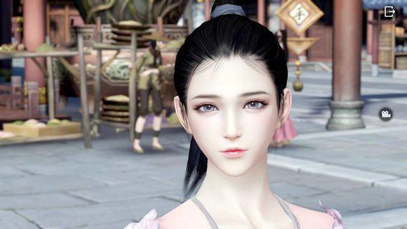 《天涯明月刀》手游女角色捏脸分享