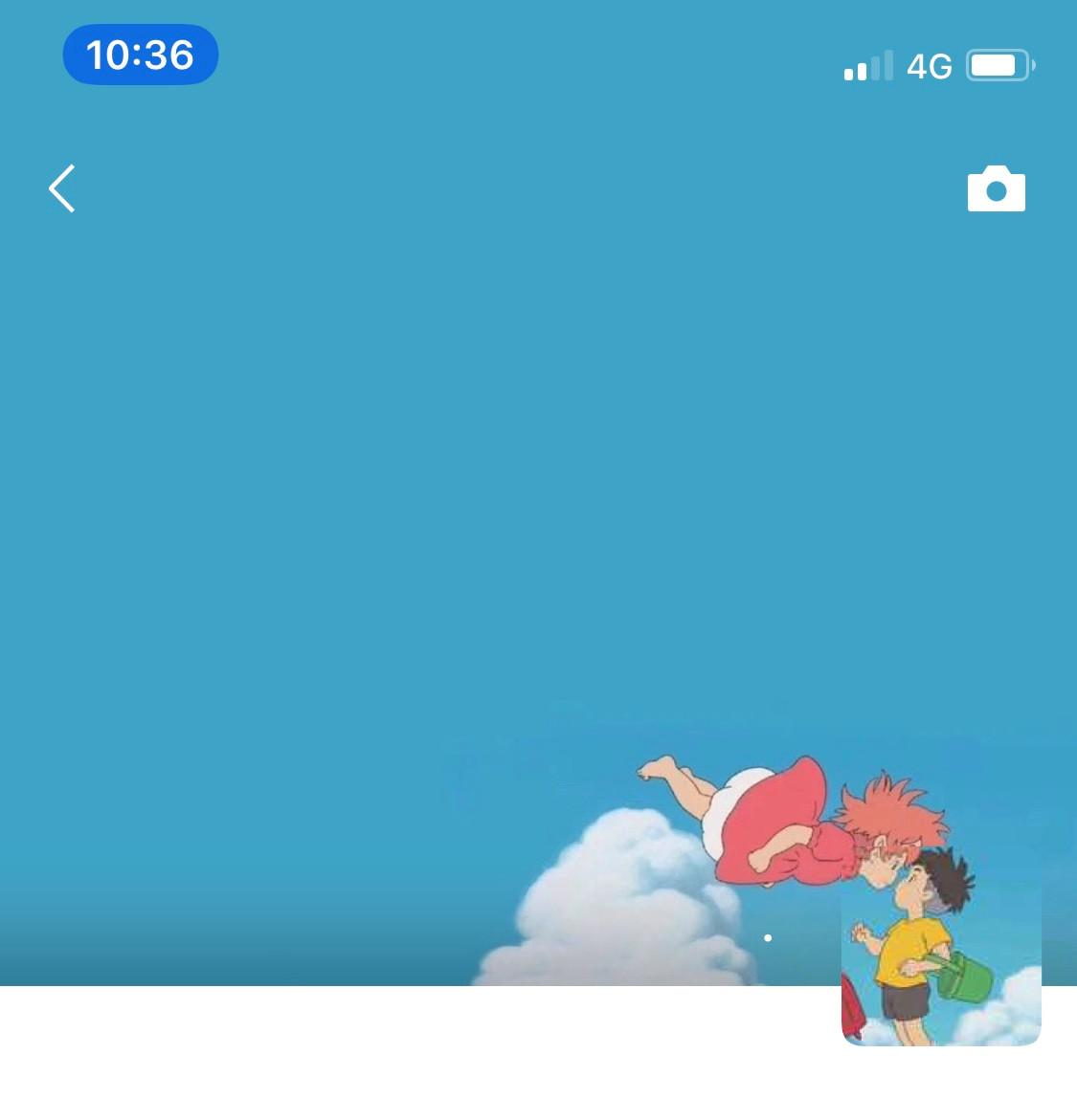 微信朋友圈波妞宗介情侣头像背景套图