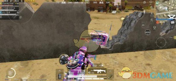 《和平精英》SCAR梦幻火箭和M4五爪金龙对比