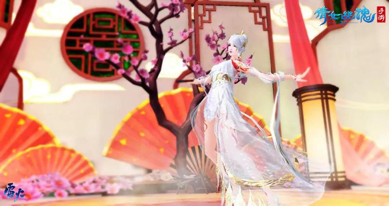 做春天最酷的盖,倩女手游首款带妆时装惊鸿羽上架!