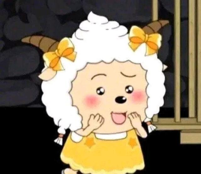 淡黄的长裙蓬松的头发表情包图片大全