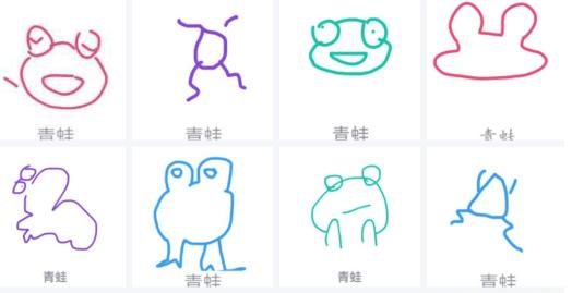 《QQ》画图红包青蛙简笔画