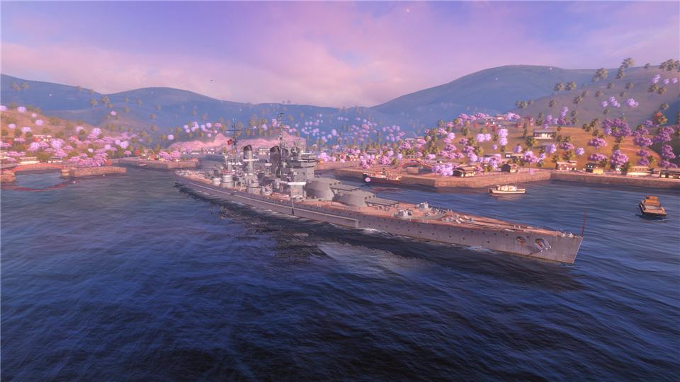 《战舰世界闪击战》Y系战列狮、征服者抢先体验!