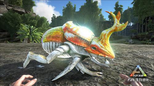 """《方舟:生存进化》手机游戏新地牢""""血色瀑布""""免费打,泰克水肺助力多环境生存"""