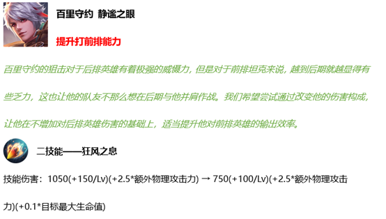 《王者荣耀》5月20日英雄平衡性调整公告