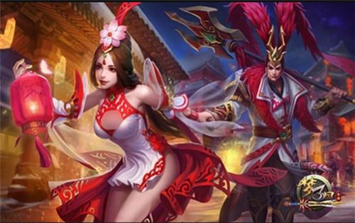 《梦三国手机游戏》:盖世红颜温馨降临 IN霸模式登陆手机游戏